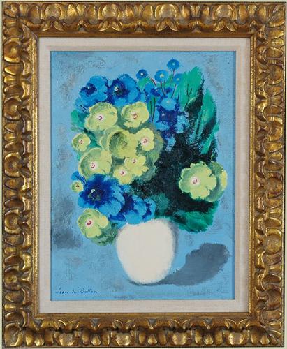 """de Botton, Jean <br>(1898-1978)<br> """"Gentianes et Fleurettes de France"""""""