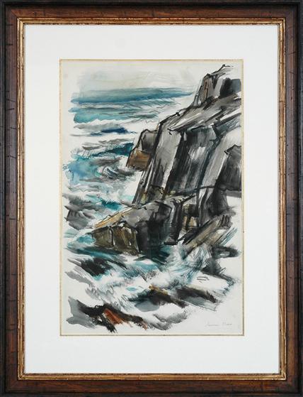 """Dodd, N.A., Lamar (1909-1996) """"Coastal Breakers"""""""