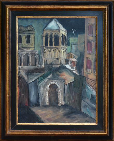 """Dodd, N.A., Lamar <br>(1909-1996)<br> """"Piazza San Marco, Venice"""""""