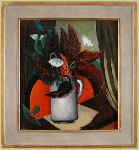"Jones, Nell Choate <br>(1879-1981)<br> ""Flowers in a Vase"""