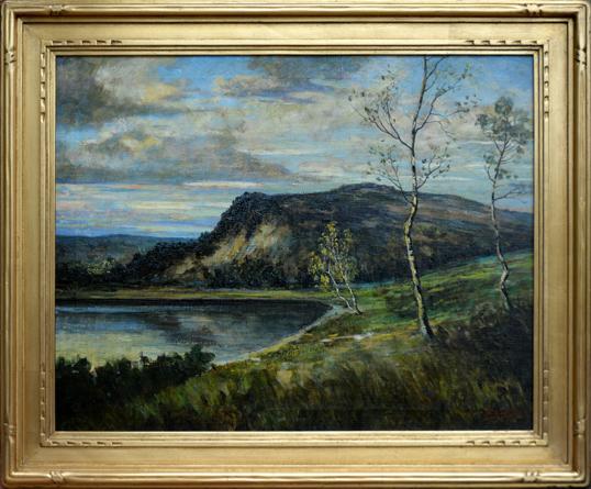 "Koeniger, Walter <br>(1881-1943)<br> ""Summer Landscape"""