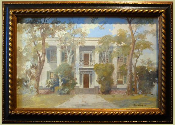 """Kurtz, Wilbur <br>(1882-1967)<br> """"The Neel Residence"""""""