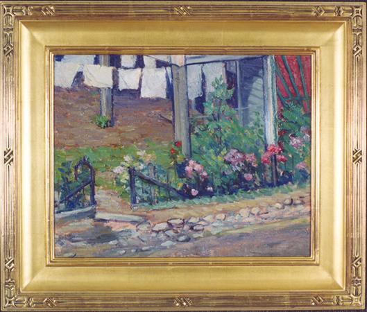 "Richmond, Agnes (1870-1964) ""Wash Day, Gloucester"""