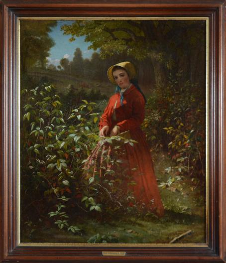 "Smith, T. Henry (mid 19th century) ""Blackberry Girl"""