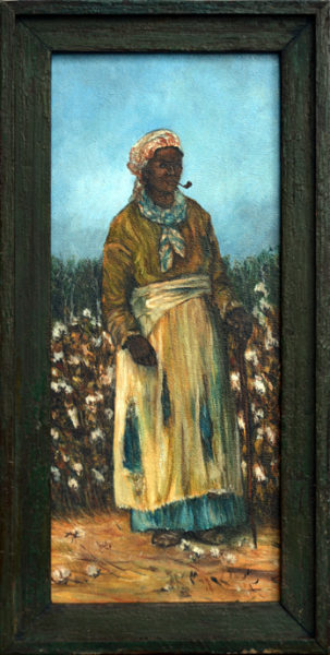 "Walker, William Aiken (Manner of) <br> late 19th century <br>""Female Cotton Picker"""