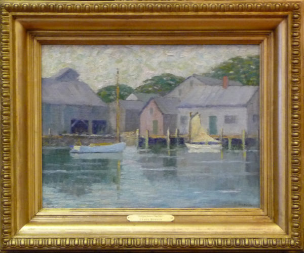 "Hoppin, Tracy <br> (1871-1958)<br>""Edgartown Harbor"""