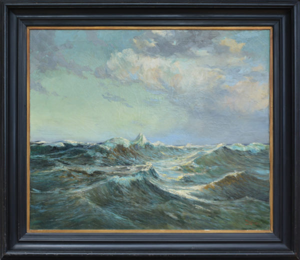 "Koeniger, Walter <br>(1881-1943)<br>""Stormy Seascape"""