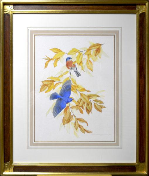 """Menaboni, Athos<br>(1895-1990)<br>""""Bluebirds"""""""