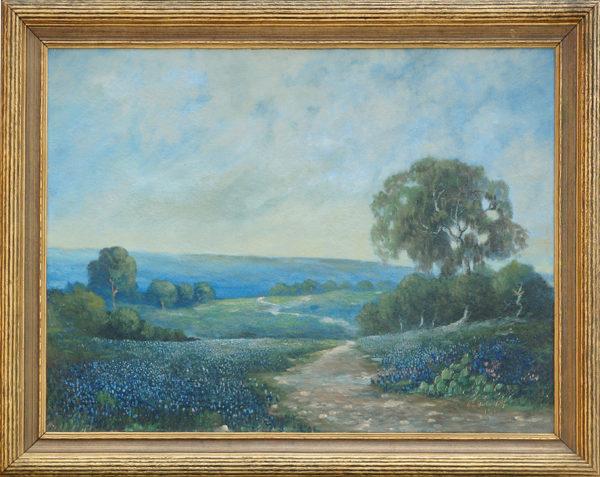 """Bickerstaff George<br>(1893-1954)<br>""""Lupines"""""""