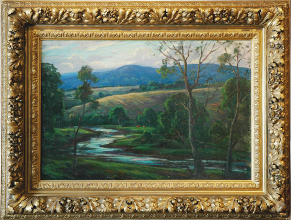 "Clark, NA, Eliot<br>(1883-1980)<br>""Valley Crucis, North Carolina"""