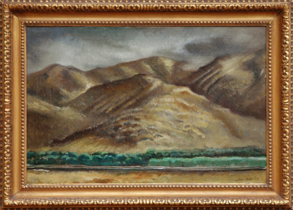 "Dodd, NA, Lamar<br>(1909-1996)<br>""North Georgia Mountains"""