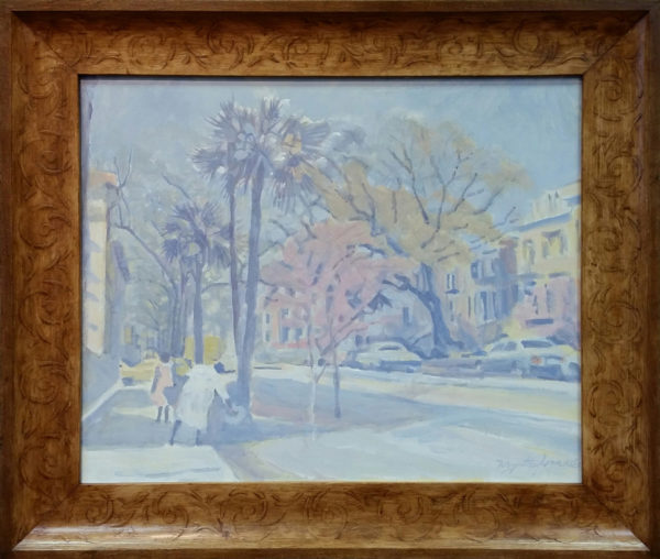 "Jones, Myrtle<br>(1913-2007)<br>""Savannah, Georgia Street Scene"""