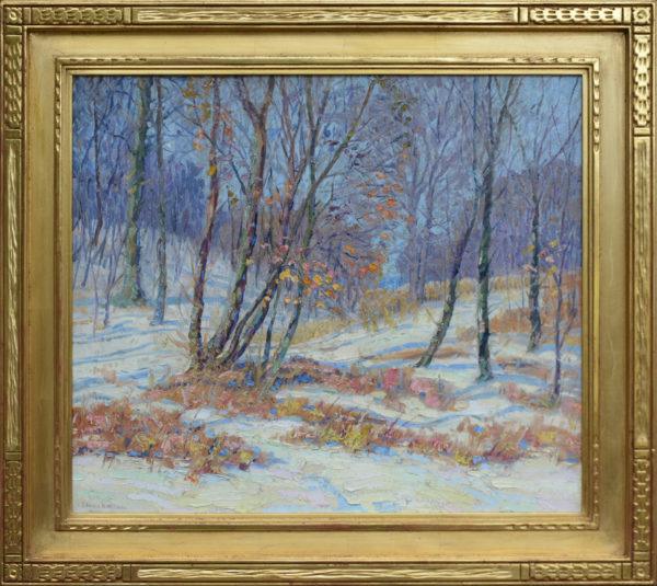 "Williams, Edward K.<br>(1870-1950)<br>""Indiana Snow Scene"""