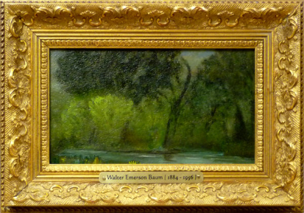 "Baum, ANA, Walter Emerson<br>(1884-1956)<br>""Tohickon Creek, Bucks County, Penn."""