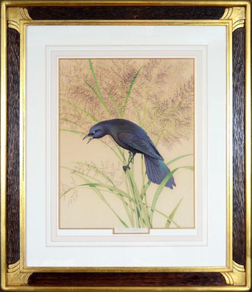 "Menaboni, Athos<br>(1895-1990)  <br>""Crow Blackbird"""