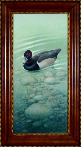 "Menaboni, Athos<br>(1895-1990)  <br>""Ring-necked Duck"""
