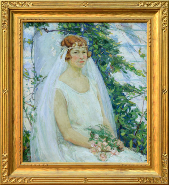 "Richmond, Agnes<br>(1870-1964)<br>""The Bride"""