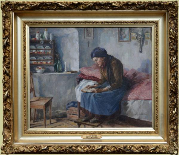 "Bocher, August<br> (1873-1961)<br>""Interior"""