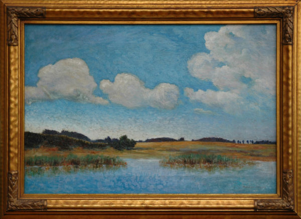 "Lane, Mary Comer<br>(1881-1966)<br>""Salt Marshes"""