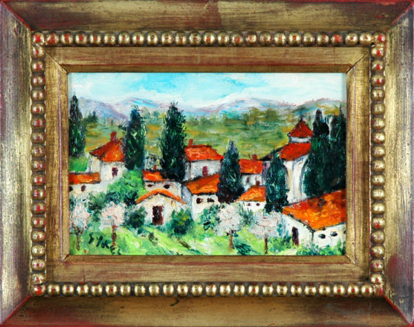 "Sykes, Maltby<br>(1911-1992)<br>""Mountain Village"""