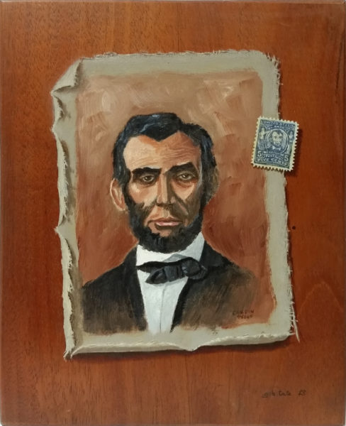 "Tate, Gayle B.<br>(born 1944)<br>""Abe Lincoln"""