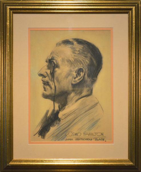 """Flagg, James Montgomery<br>(1877-1960)<br>""""Cosmo Hamilton"""""""