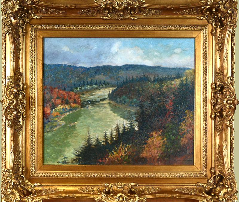 """Chattahoochee River"" by Christopher Murphy, Jr. (1902-1973)"